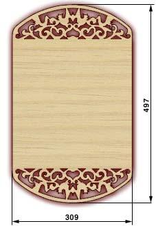 Сувенирные доски, резные доски - доска 10