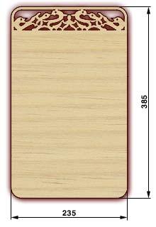 Сувенирные доски, резные доски - доска 12м