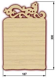 Сувенирные доски, резные доски - доска 13