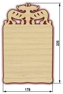 Сувенирные доски, резные доски - доска 14