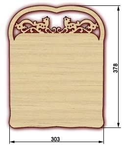Сувенирные доски, резные доски - доска 16