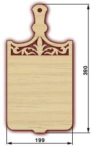 Сувенирные доски, резные доски - доска 18