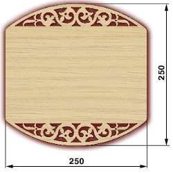 Сувенирные доски, резные доски - доска 2