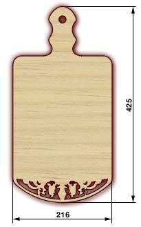 Сувенирные доски, резные доски - доска 21