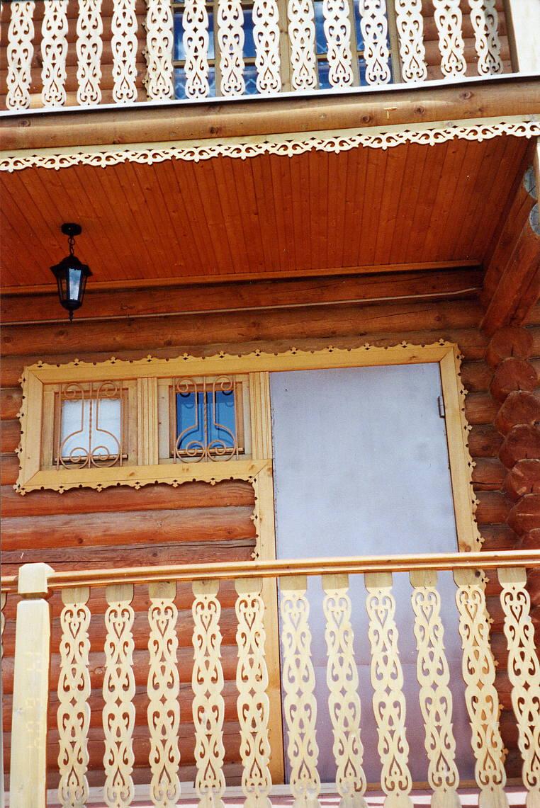 Наличники для балконов.